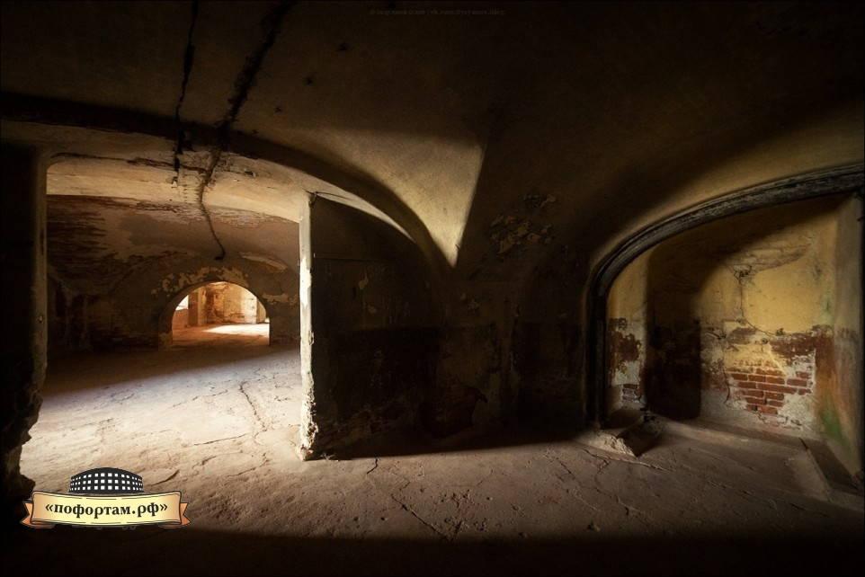 Первый орудийный ярус форта Александр 1