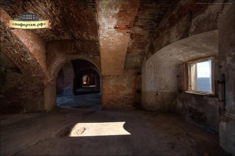 Амбразуры форта Александр 1