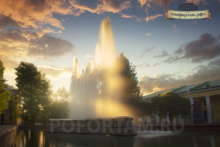 Кронштадт: Музыкальный фонтан