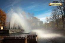 Музыкальный фонтан в Кронштадте