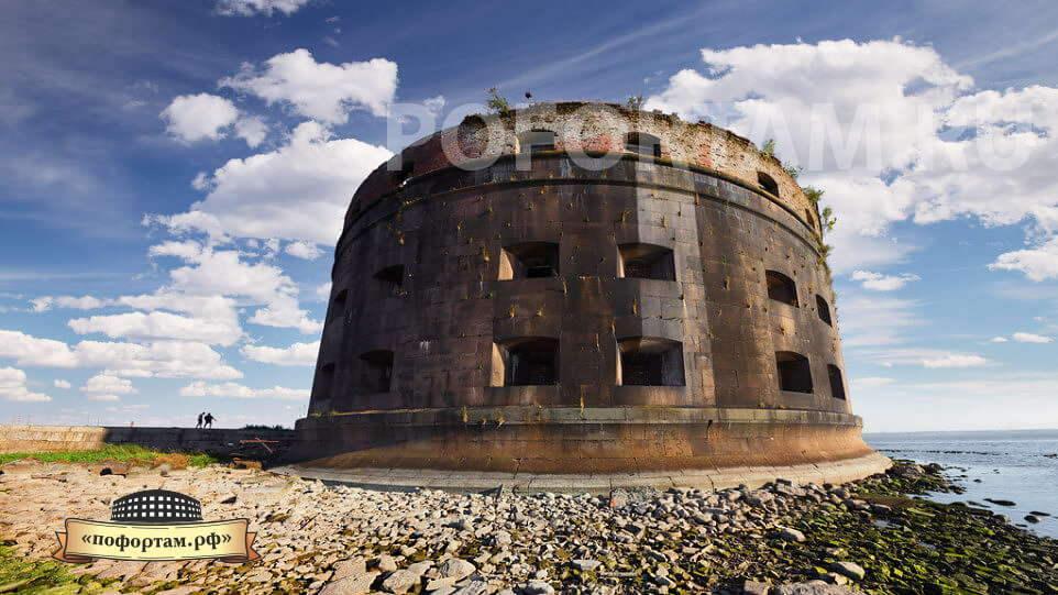 Общий вид форта Александр I с северо-востока