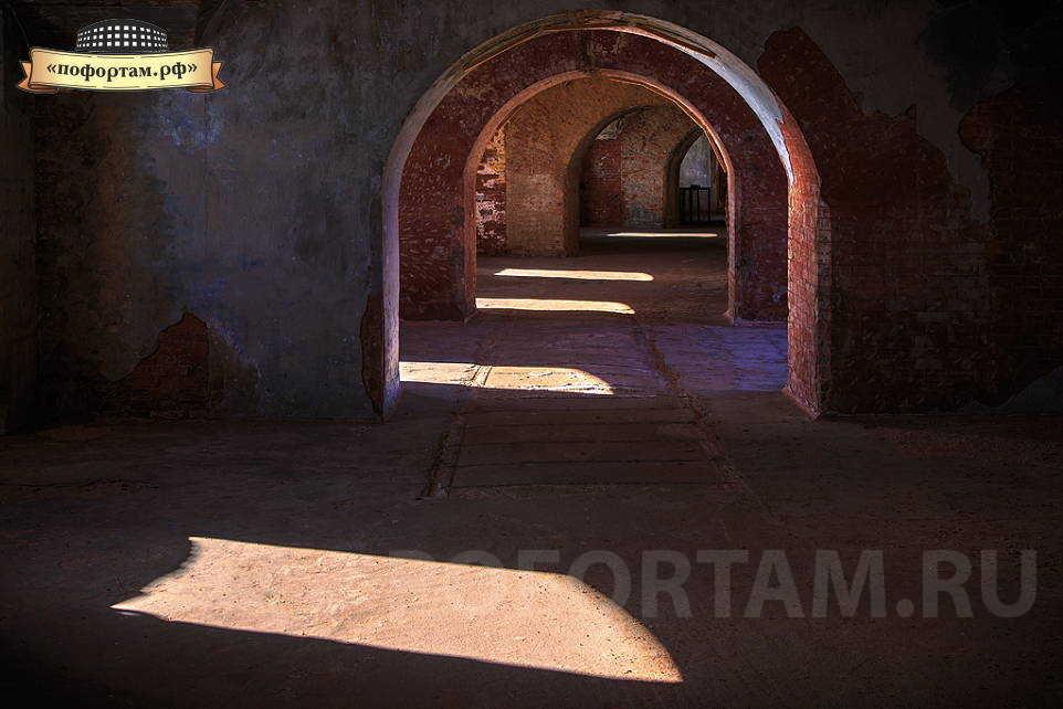 Казематы форта Александр 1