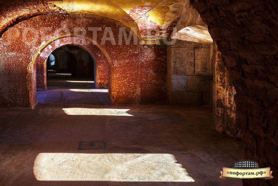 Второй этаж форта Александр 1