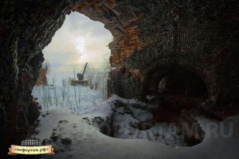 Казематы Северного форта № 4 (Зверев)