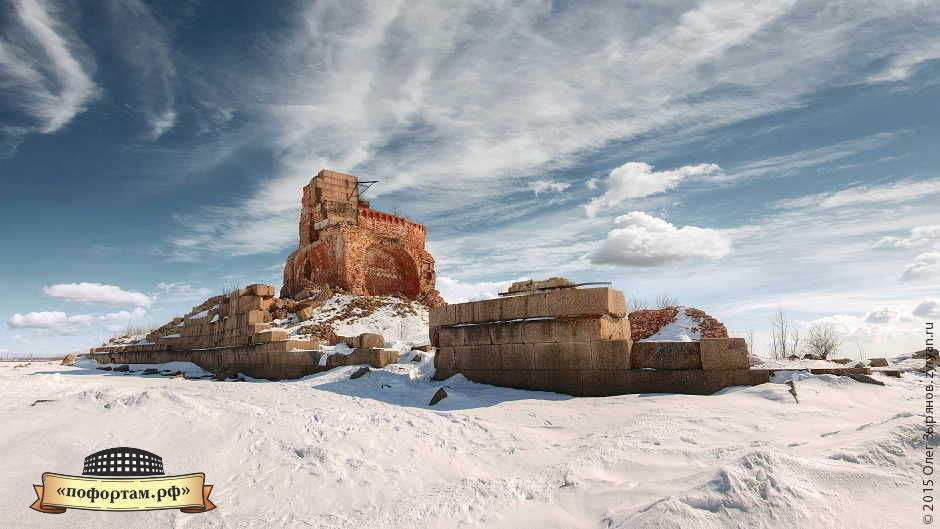 Форты Кронштадта - Павел I