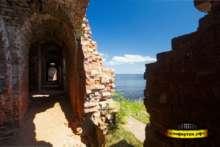 Руины порохового погреба Морского ведомства
