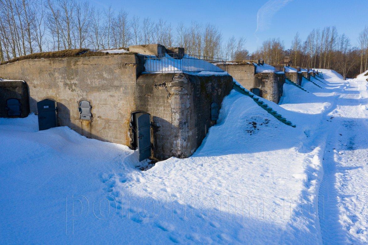 Батарея Демидов в Кронштадте: фото