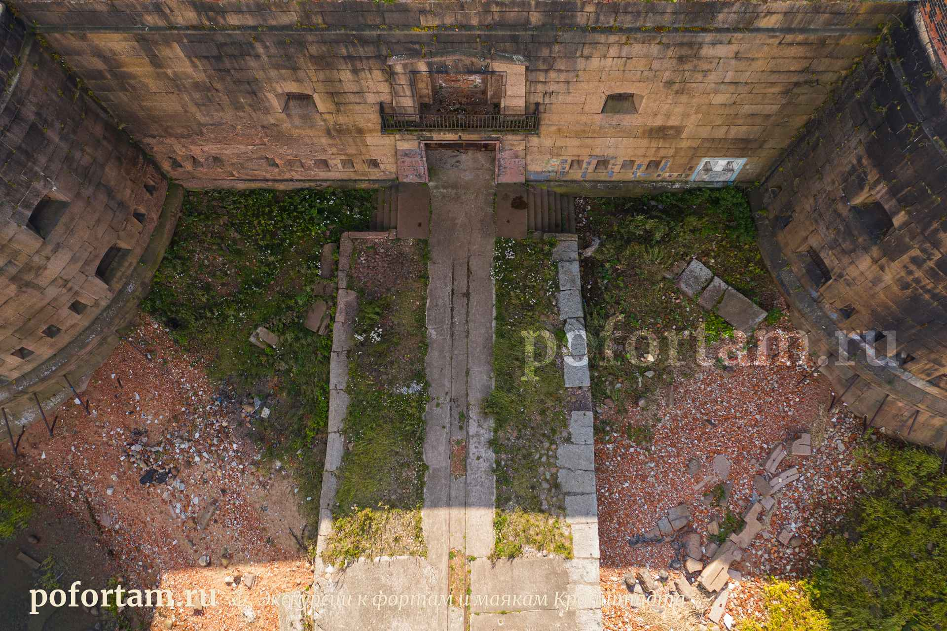 Форт Александр: фото сверху