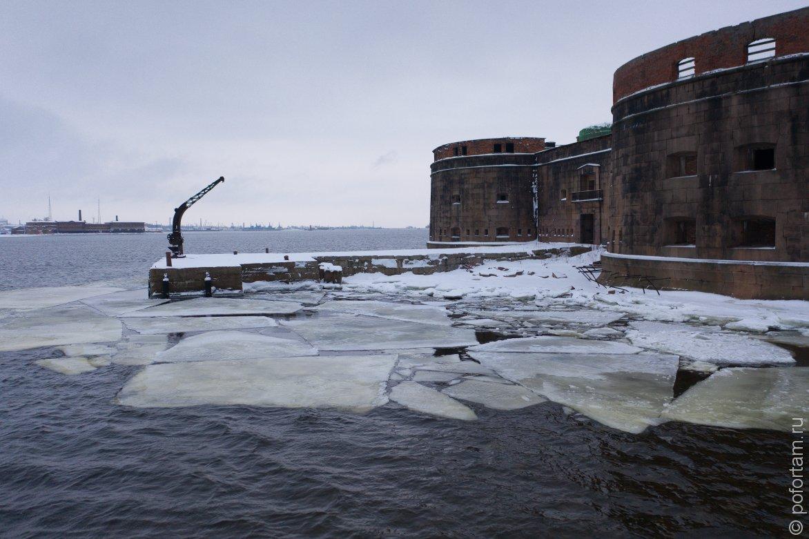 Форт «Александр І» зимой