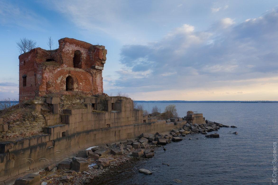 Форт «Павел І» весной