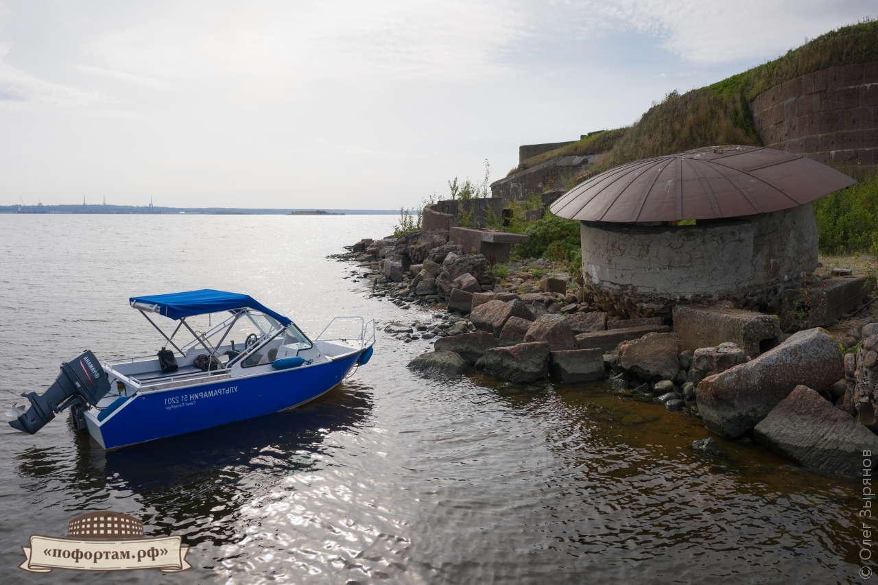 Форт «Граф Милютин»: экскурсия