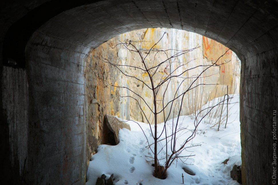 Форт Обручев: зимний поход 2018