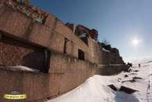 Форт Павел I: зима
