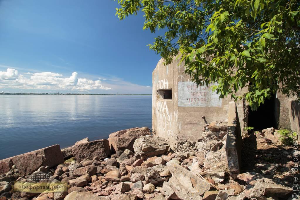 Пулемётный ДОТ на форту Зверев