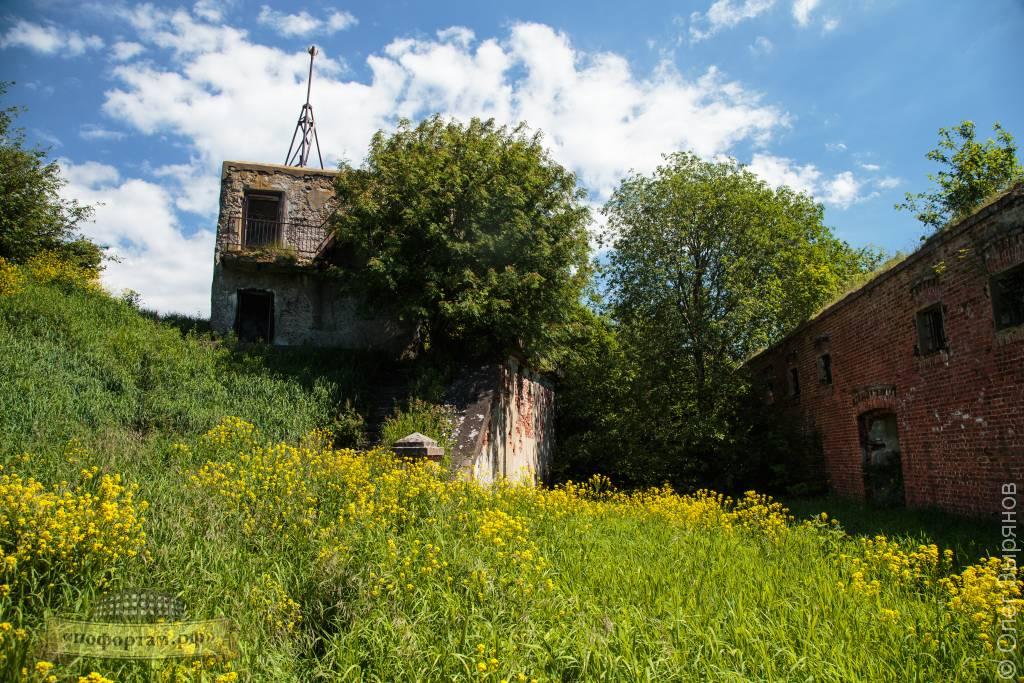 Наблюдательная вышка — командный пункт на форте Зверев