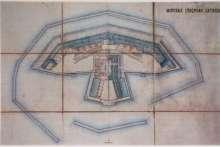 Форт Зверев: старая карта