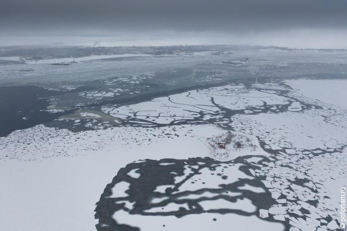 Форт «Павел І» зимой