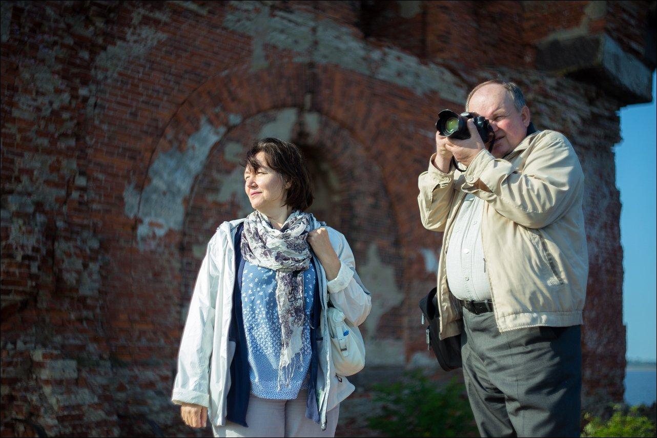 Во время экскурсии на форт Павел І