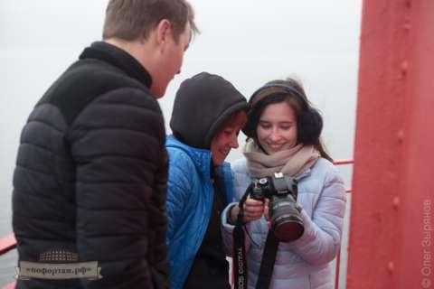 Посещение маяка Кронштадтский
