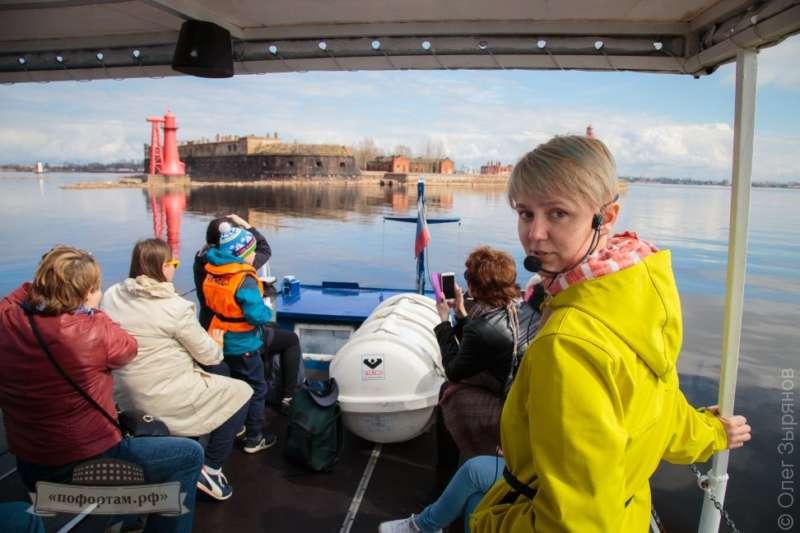 Экскурсия по маякам Кронштадта