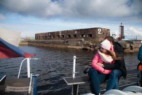 Экскурсия по фортам Кронштадта