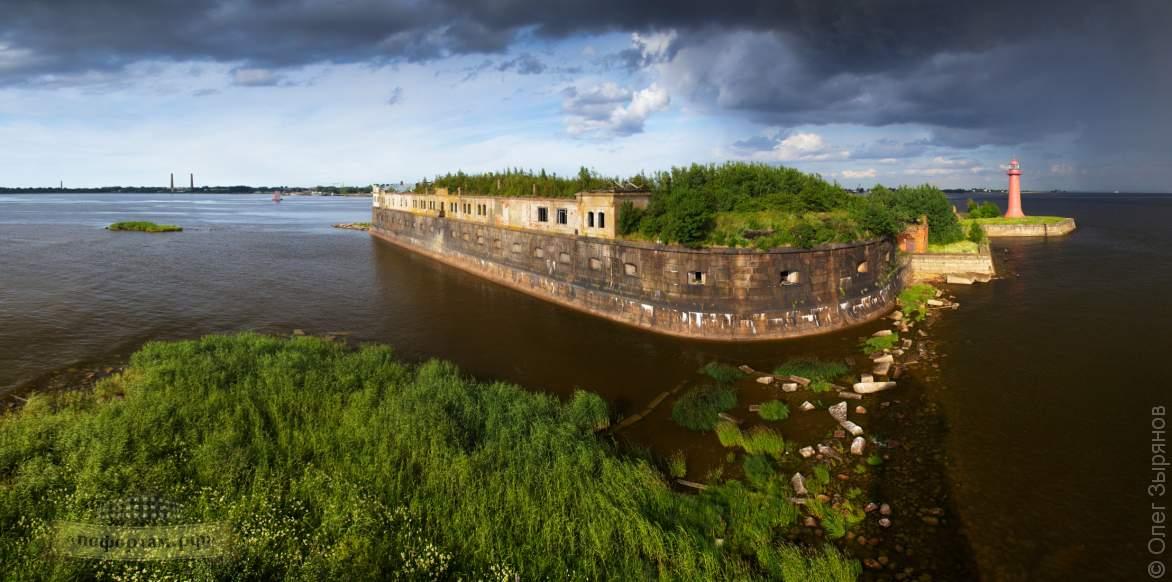 Экскурсия на «Кронштадтский» маяк / Батарея Николаевская.