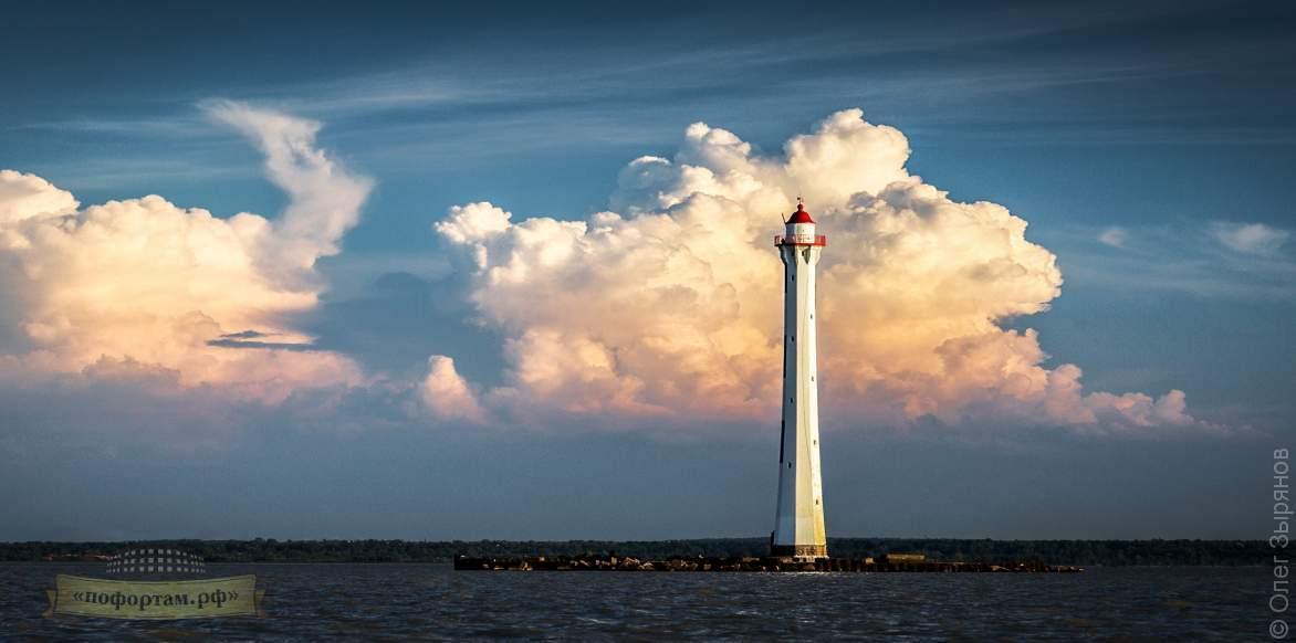 Экскурсия маяки Кронштадта / Створный маяк Морского канала СПБ.