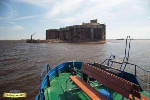 Морская прогулка к форту Александр I «Чумный»