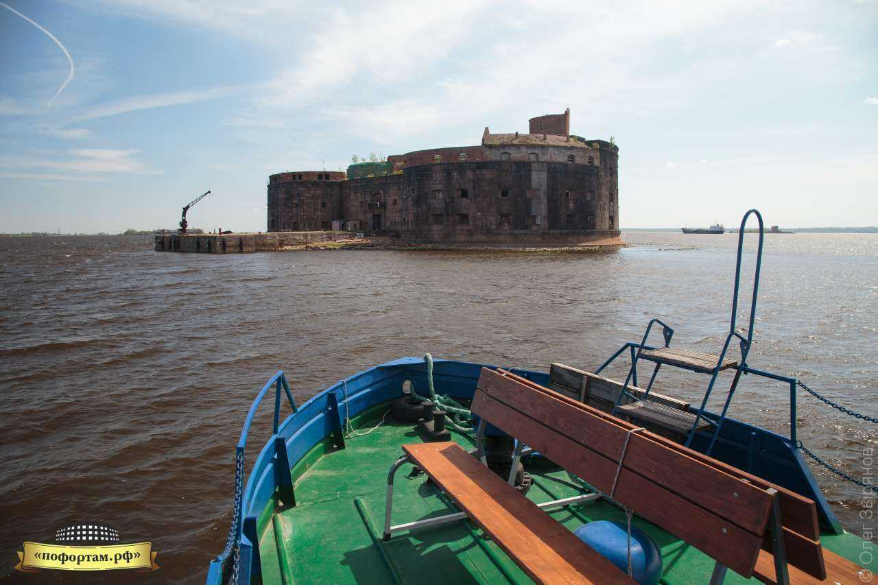 Форты Кронштадта: посещение форта Александр I