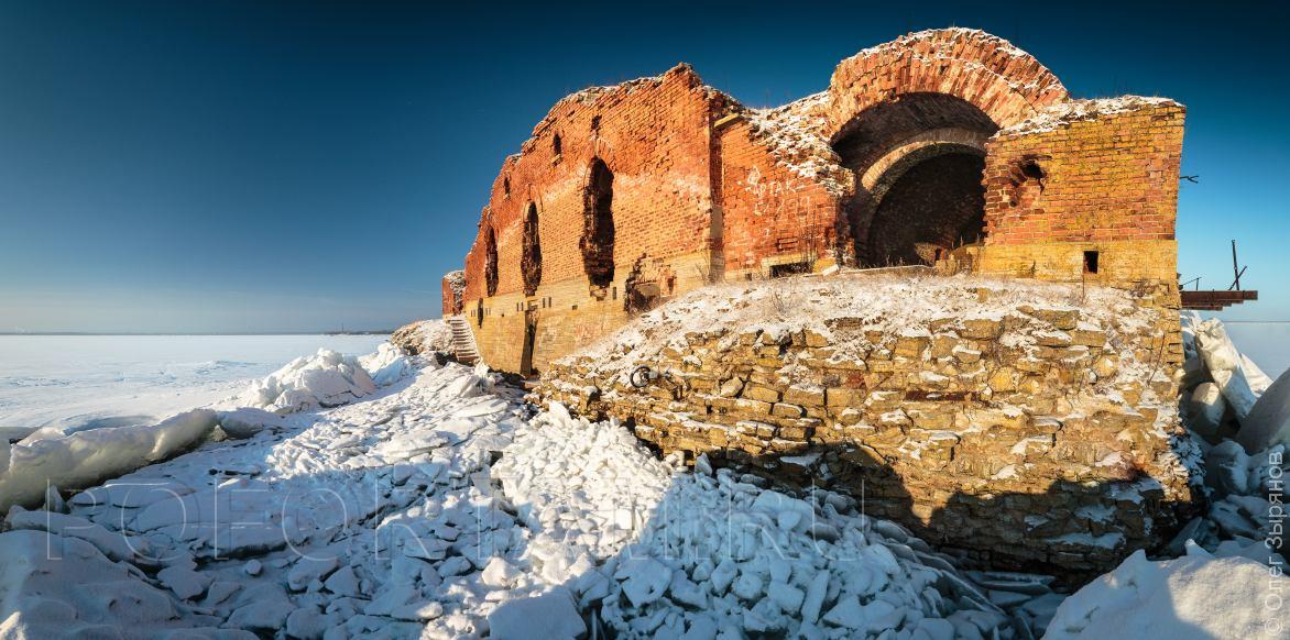 Форты Кронштадта: зимние экскурсии