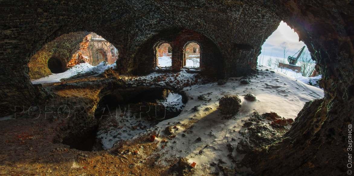 Форт Зверев зимой