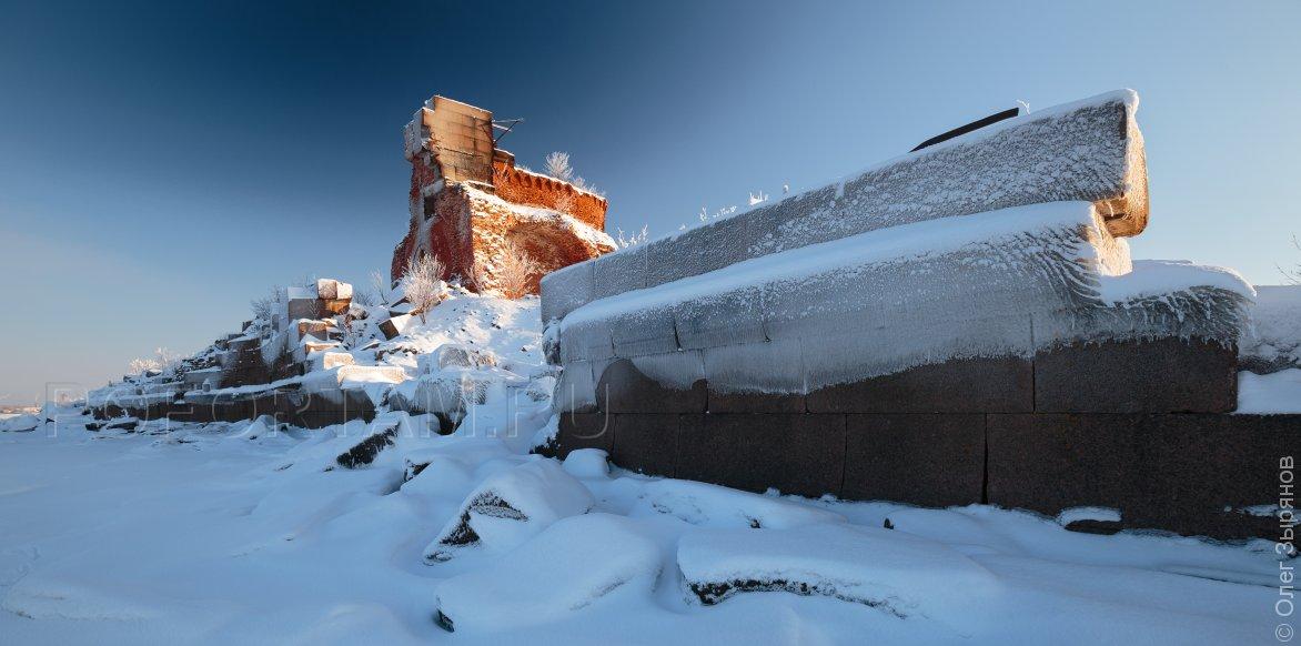 Форт Павел: зима