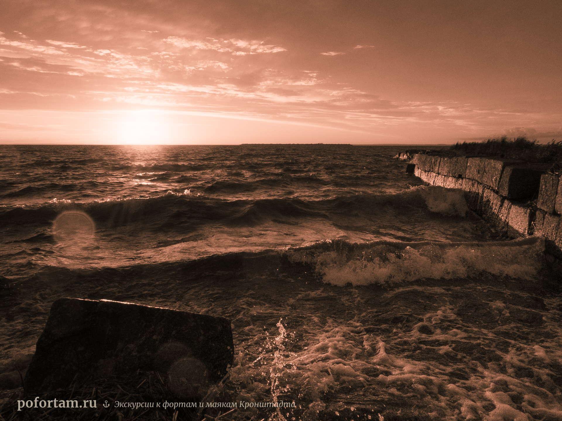 Волны у форта Северный №1