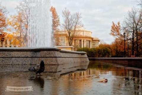 Город Кронштадт осень