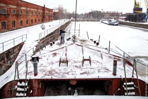 Маяк Ирбенский в Кронштадтском Морском заводе