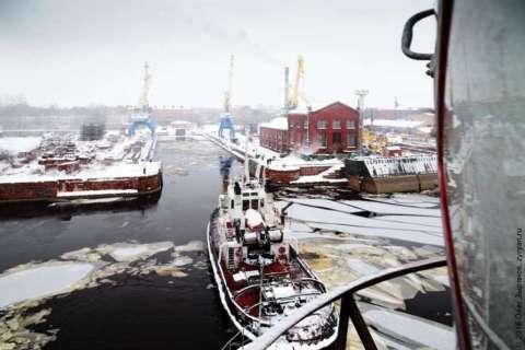 Маяк Ирбенский в Морском заводе кгорода Кронштадт