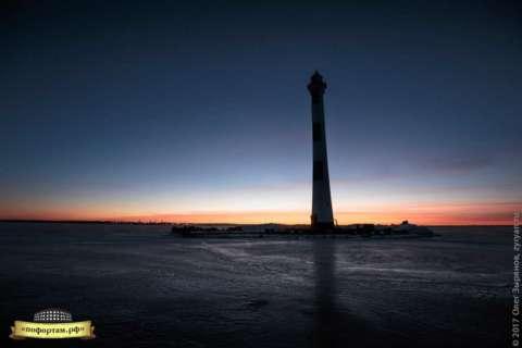 Створный маяк морского канала спб: зима 2017