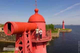 Николаевский створный маяк
