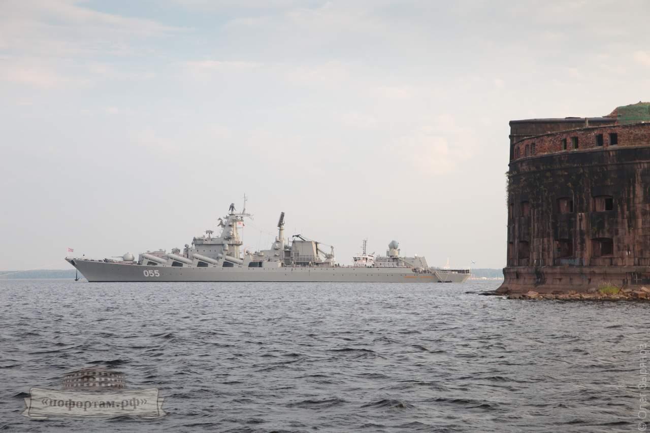 Парад военных кораблей в Кронштадте 2018