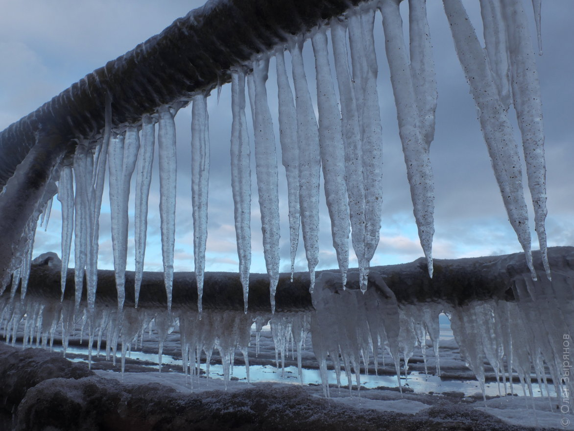 Кронштадт: Зимние пейзажи Западного Котлина