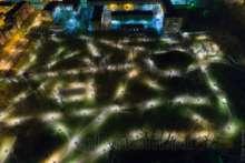 Кронштадт: освещение в Летнем саду