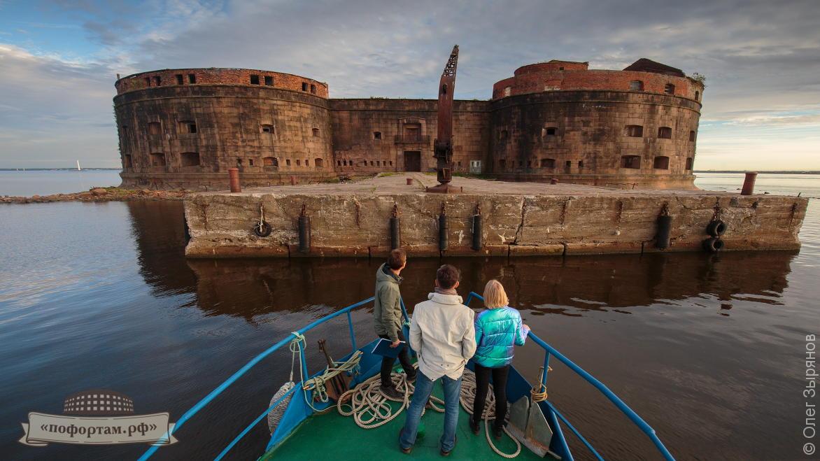 Эксурсии по фортам и маякам Кронштадта
