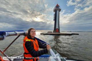 Створный маяк Морского канала
