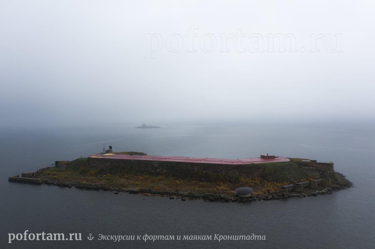 ФортГраф Милютин в тумане