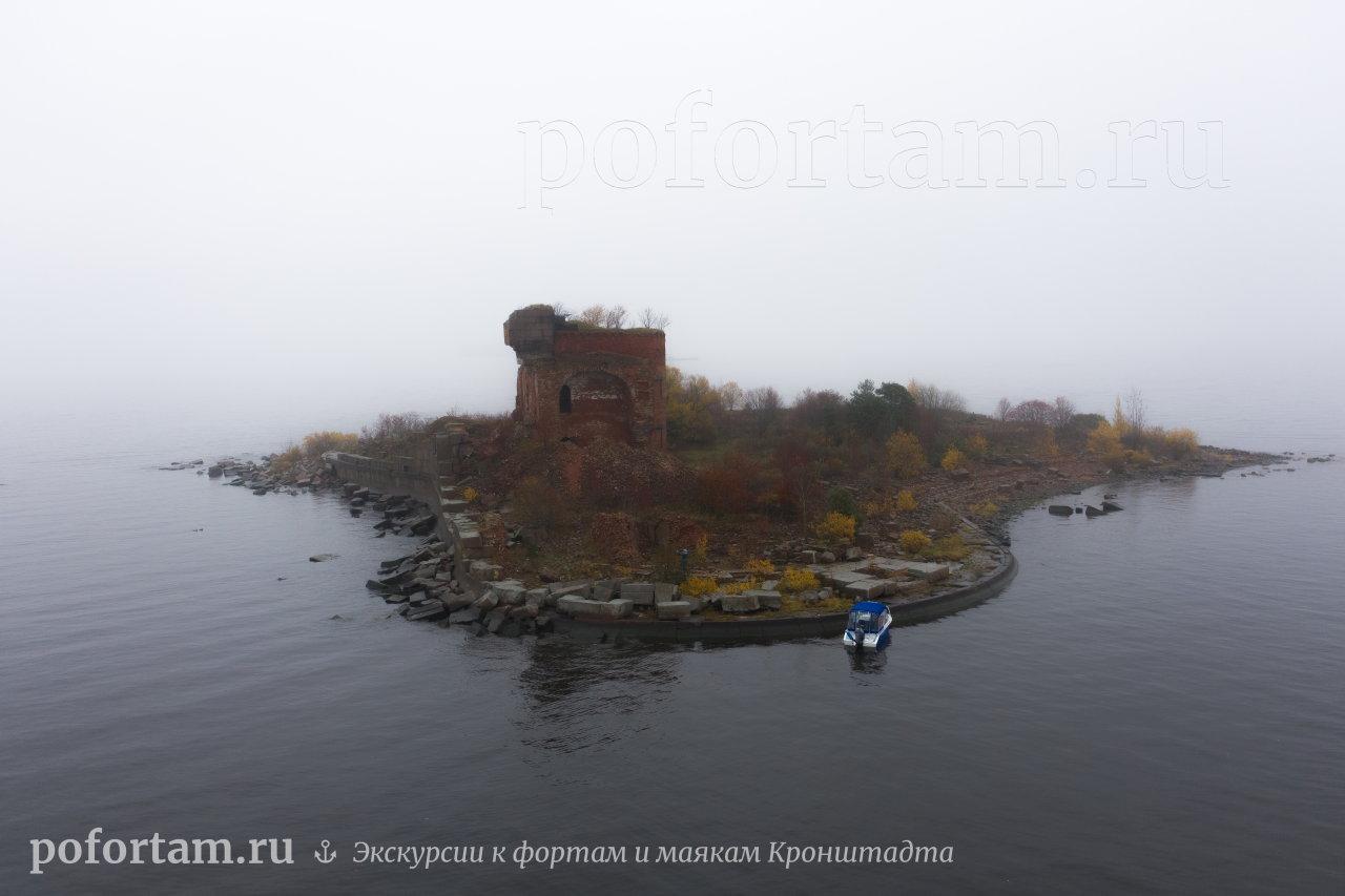 Форт Павел І в тумане